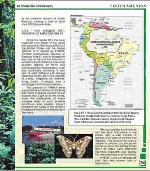 LA AMAZONÍA SEGÚN UN TEXTO ESCOLAR EN LOS EEUU