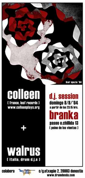 Colleen en Donostia! 08 / 08 / 2004